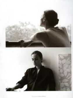 Sophie, portraits noir et blanc