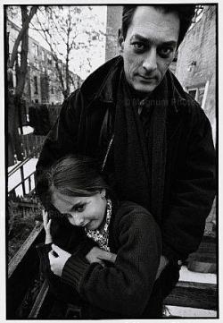 Sophie enfant avec Papa