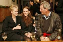 Sophie avec papa et maman