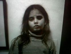 Sophie à l'âge de 8 ans