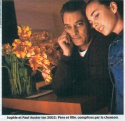Sophie avec Paul, son père