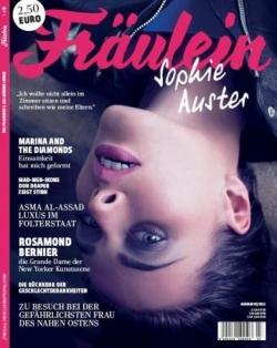 Sophie dans le mag allemand Fraülein