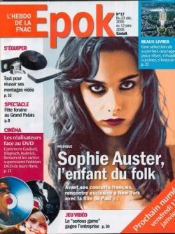Sophie en cover d'Epok