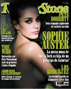Sophie dans Rolling Stone (espagnol)
