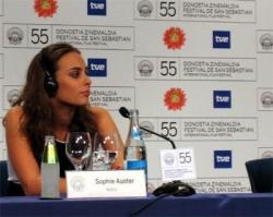Sophie à la Berlinale 2007