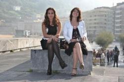 Au festival de San Sebastian avec Irène Jacob