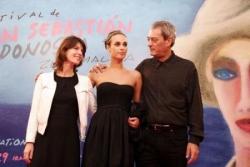 Au festival de San Sebastian avec papa et Irène Ja