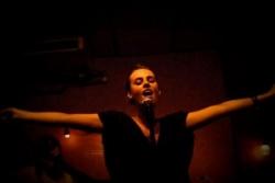 Sophie au Caffe Vivaldi NYC oct 2009