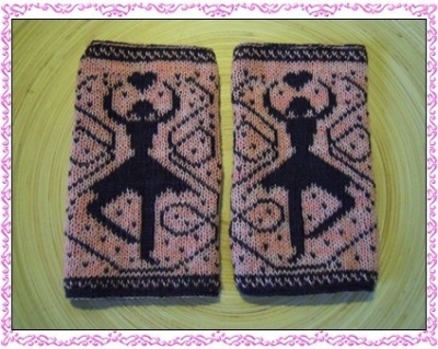 Doppeltgestrickte Tänzerin : zizi's stricken und mehr