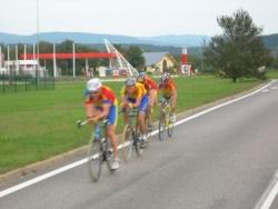 Chrono par équipe St Vulbas -2006