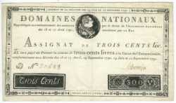 Assignat sous Louis XVI