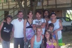 La familia de Maricel y los Ruffinelli