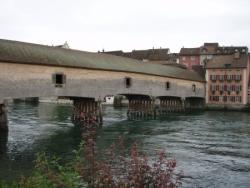 Pont sur le Rhin à Diessenhofen