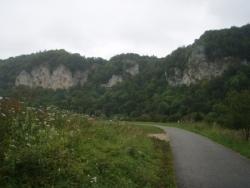 Falaises le long du Danube