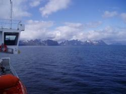 Arrivée aux îles Lofoten