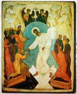 Résurrection - Icône
