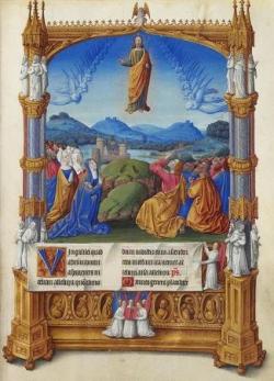 L'Ascension (enluminure)