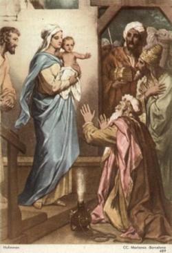 Adoration des mages (Epiphanie) 2