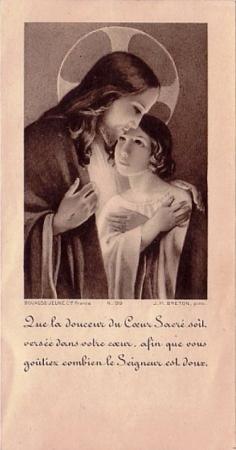 """""""la douceur du Coeur Sacré"""""""