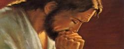 Jésus en prière 1