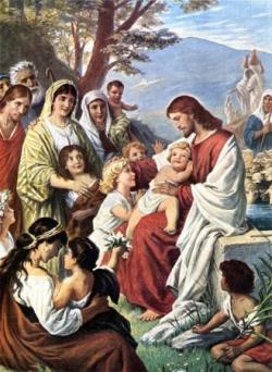 Jésus et les enfants 3