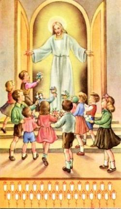 Jésus et les enfants 5