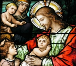 Jésus et les enfants 2