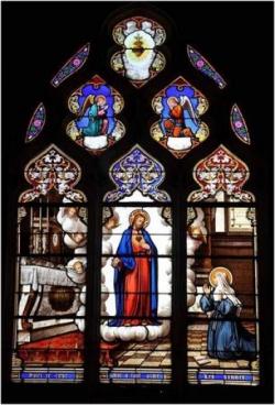 Apparition à Sainte Marguerite-Marie