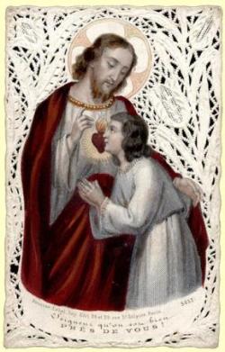 Sacré-Coeur (image pieuse)