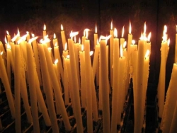 Cierges à Lourdes 2
