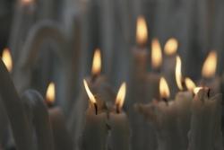 Cierges à Lourdes 1