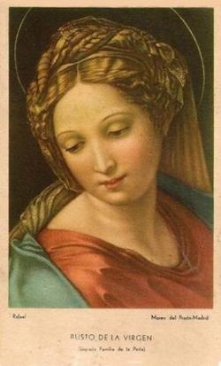 Vierge Marie - Rafaël
