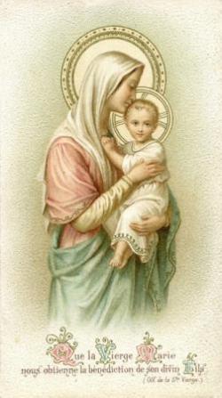 Vierge à l'enfant 10