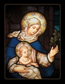 Vierge à l'enfant 14