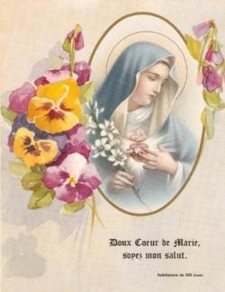 Doux Coeur de Marie