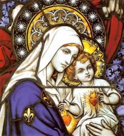 Vierge à l'enfant 8