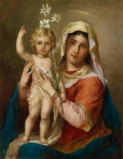 Vierge à l'enfant 7
