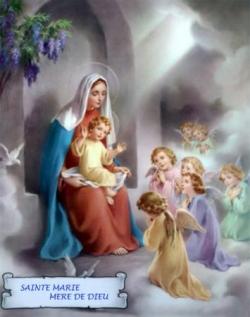 Vierge à l'enfant 6