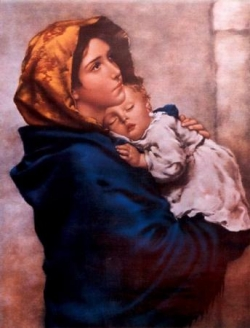 Vierge à l'enfant 5