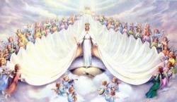 Marie, Reine du Ciel et des Anges