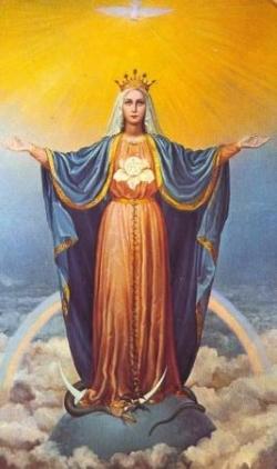 Marie médiatrice de toutes grâces
