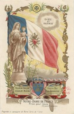 La Vierge Marie et la France