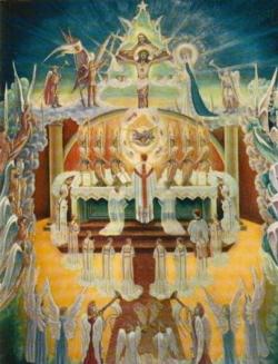 La Sainte Messe 3, adoration des Anges