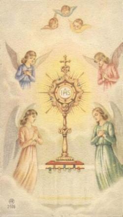 Adoration du Saint-Sacrement 12