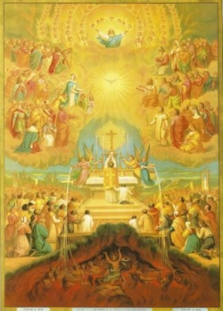 La Sainte Messe, communion des saints