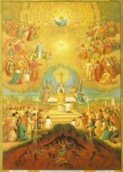 La Sainte Messe, communion des saints
