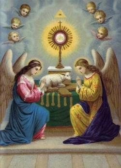 Adoration du Saint-Sacrement 14