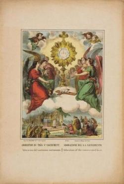 Adoration du Saint-Sacrement 1