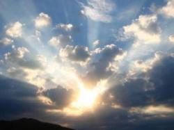 Soleil et nuages 3