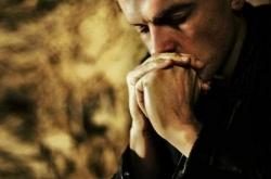 Homme en prière 1